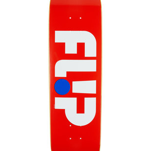 "8.5"" x 32.75"" Flip Team Odyssey Patriot Red Skateboard Deck"
