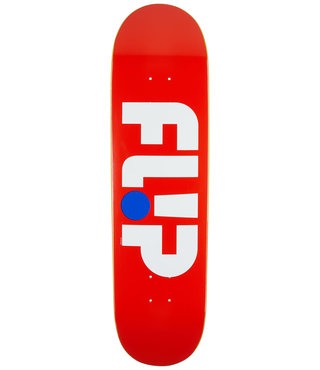"8.5"" x 32.75"" Flip Team Odyssey Patriot Red Skateboard Deck"