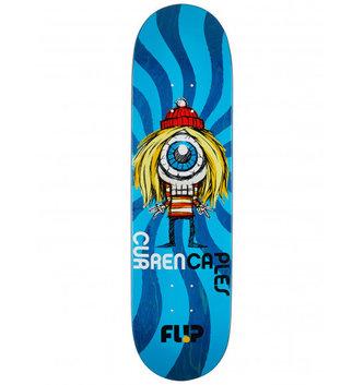 "Flip Skateboards 8.38"" x 31.5"" Flip Caples Notebook Skateboard Deck"