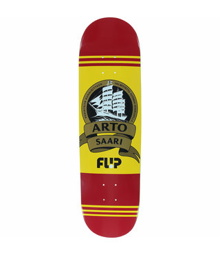 "8.5"" x 32.75"" Flip Saari Mustard Skateboard Deck"