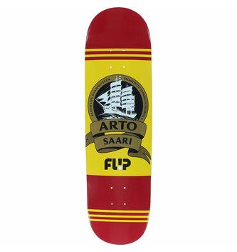 """Flip Skateboards 8.5"""" x 32.75"""" Flip Saari Mustard Skateboard Deck"""
