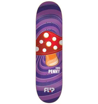 "Flip Skateboards 8"" x 31.5"" Flip Penny Popshroom Purple Skateboard Deck"