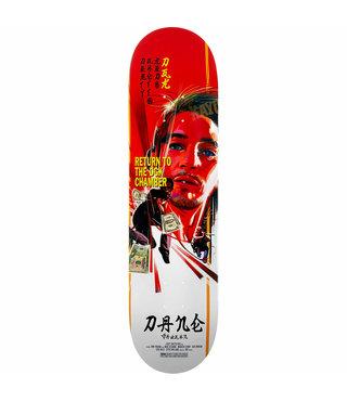 """8.1"""" DGK Kung Fu Vaughn Skateboard Deck"""