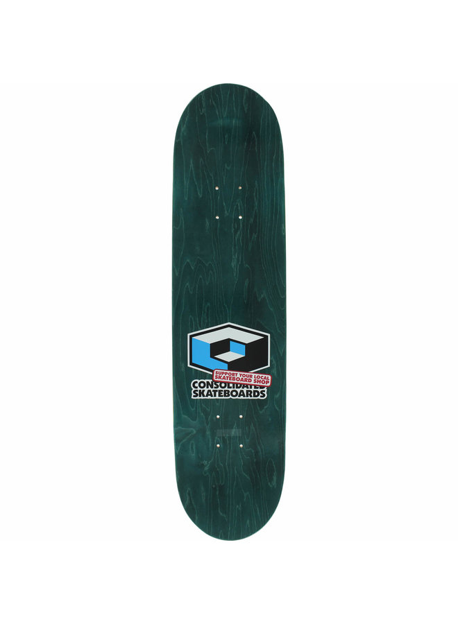 """8.3"""" Consolidated Fists Skateboard Deck"""