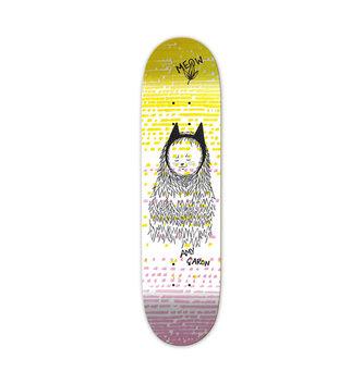 "Meow Skateboards 7.75"" Meow Caron Dress Up Skateboard Deck"