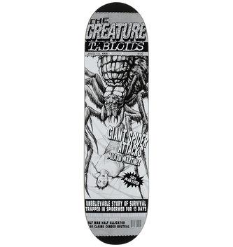 "Creature Skateboards 8.5"" x 32.25"" Creature Martinez Tabloid Skateboard Deck"