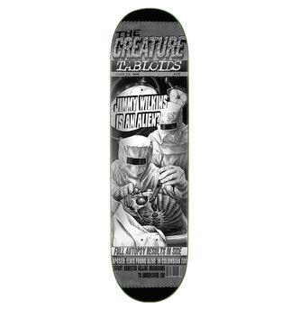 "Creature Skateboards 8.8"" x 32.5"" Creature Wilkins Tabloid Skateboard Deck"