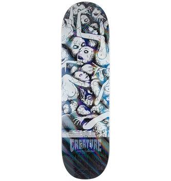 "Creature Skateboards 8.8"" x 32.5"" Creature Junji Distort Skateboard Deck"