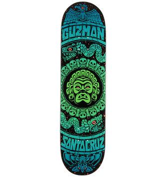 "Santa Cruz Skateboards 8.27"" x 31.83"" Cruz Guzman Rad Temple Skateboard Deck"