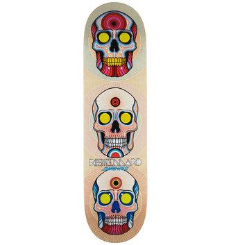 "Santa Cruz Skateboards 8.25"" x 31.8"" Cruz Remillard Power of 3 Skateboard Deck"