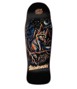 """10.34"""" x 30.54"""" Cruz Winkowski Panda Preissue Skateboard Deck"""