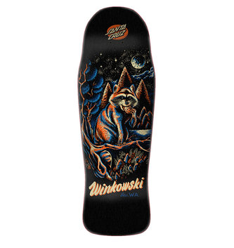 "Santa Cruz Skateboards 10.34"" x 30.54"" Cruz Winkowski Panda Preissue Skateboard Deck"