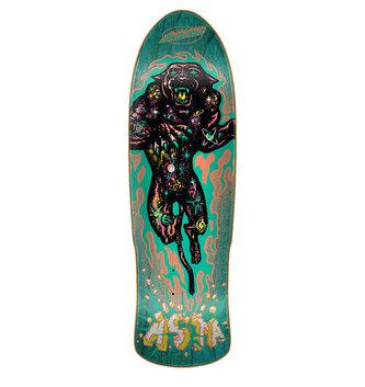 "Santa Cruz Skateboards 9.42"" x 31.88"" Cruz Asta Cosmic Cat Preissue Skateboard Deck"