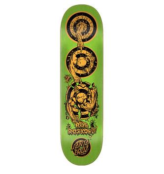 "Santa Cruz Skateboards 8.375"" x 32"" Cruz Roskopp Evolution Skateboard Deck"