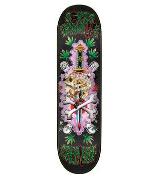 "8.5"" x 32.25"" Creature Gravette Upside Downer Skateboard Deck"
