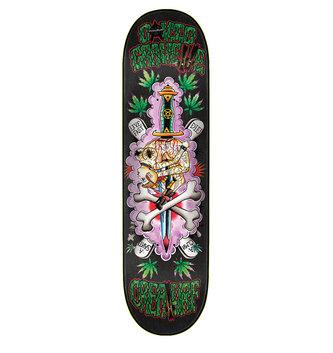 "Creature Skateboards 8.5"" x 32.25"" Creature Gravette Upside Downer Skateboard Deck"
