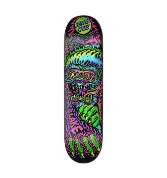 "Santa Cruz Skateboards 8.375"" x 32"" Cruz Johnson Beach Wolf Skateboard Deck"