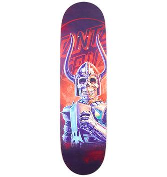 "Santa Cruz Skateboards 8.5"" x 32.2"" Cruz The Worst Black Falcon Everslick Skateboard Deck"