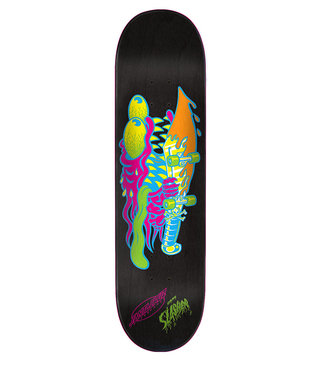 "8.375"" x 32"" Cruz Neon Slasher Skateboard Deck"