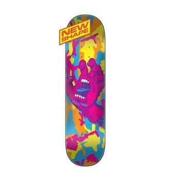 "Santa Cruz Skateboards 8.375"" x 32.15"" Cruz Screaming Hand Camo Skateboard Deck"