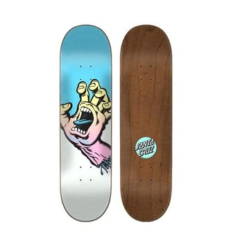 "Santa Cruz Skateboards 8.6"" x 32.3"" Cruz Pastel Screaming Hand Skateboard Deck"