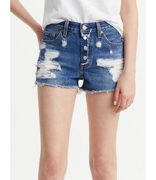 Women's 501® Shorts - Mid View