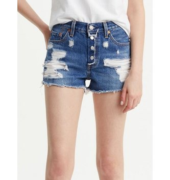 LEVIS Women's 501® Shorts - Mid View