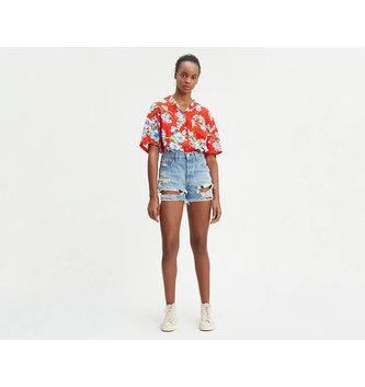 LEVIS Women's 501® High Rise Shorts - Fault Line