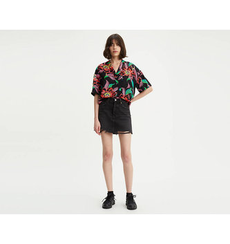 LEVIS Deconstructed Mini Skirt - Ill Fated