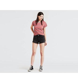 LEVIS Women's 501® Shorts - Trashed Black