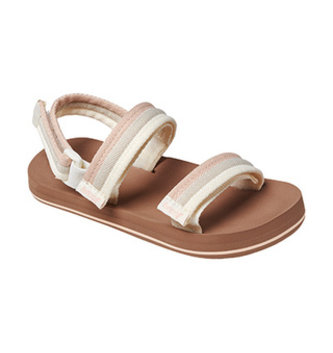 REEF Little Ahi Convertible Kids Sandals - Sandy Toes