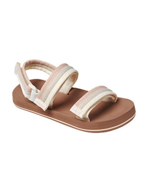 REEF Little Ahi Convertible Kids Sandals - Sandy Toes