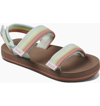 REEF Little Ahi Convertible Kids Sandals - Rainbow