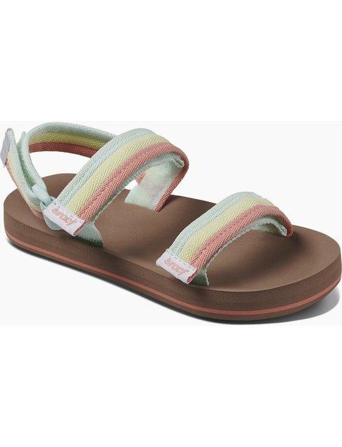 REEF Little Ahi Convertible Kids Sandals - Rainbow