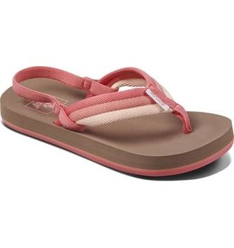 REEF Little Ahi Beach Kids Sandals - Raspberry