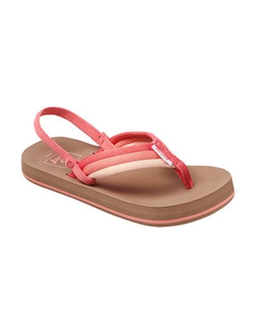 REEF Little Ahi Beach Kids Sandals - Raspberry