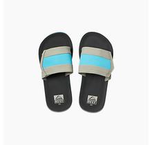 Kids Ahi Slide Sandals - Grey/Blue