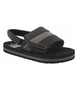 Little Ahi Slide Kids Sandals - Black