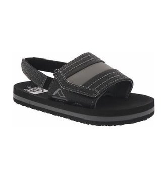 REEF Little Ahi Slide Kids Sandals - Black