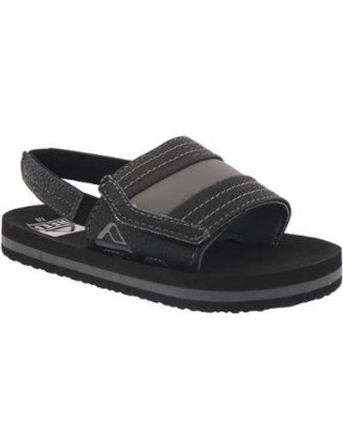 REEF Little Ahi Slide Kids Sandals - Black