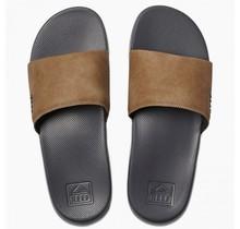 Reef One Slide Men's Sandals - Grey/Tan