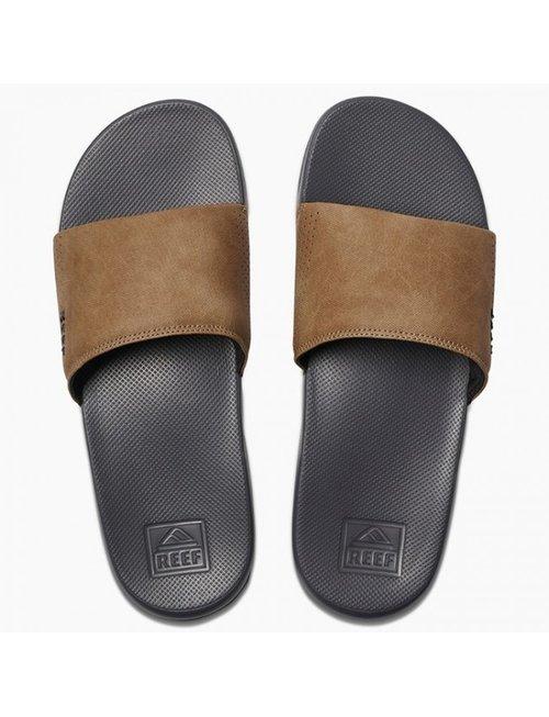 REEF Reef One Slide Men's Sandals - Grey/Tan