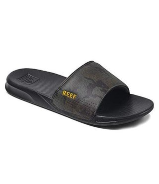 Reef One Slide Men's Sandals - Green Camo