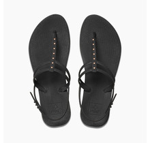 Reef Escape Lux T Stud Women's Sandals - Antique Black