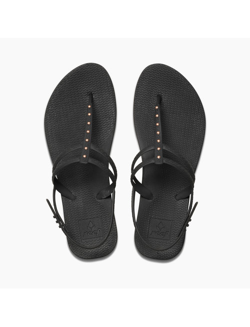 REEF Reef Escape Lux T Stud Women's Sandals - Antique Black
