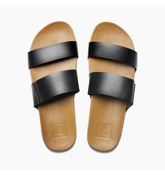 REEF Cushion Bounce Vista Women's Sandals - Black/Natural
