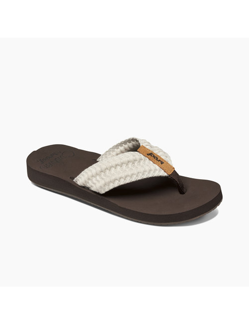 REEF Reef Cushion Threads Women's Sandals - Vintage White