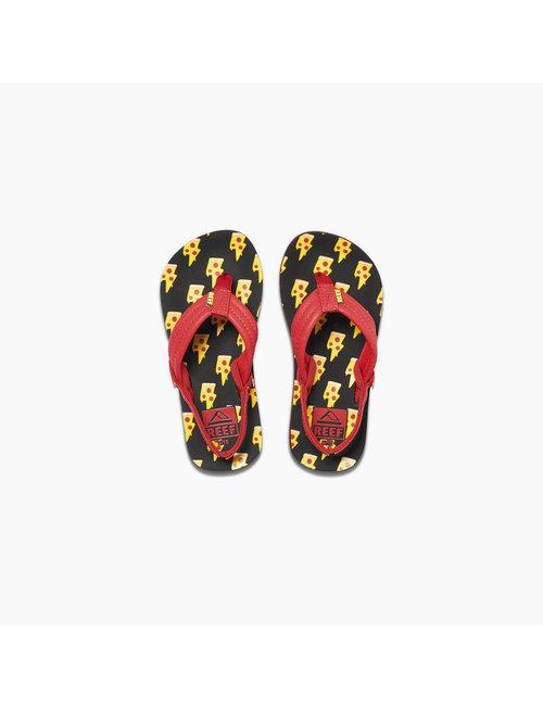REEF Little Ahi Kids Sandals - Pizza Bolt
