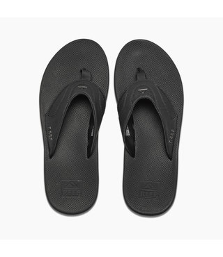 Men's Fanning Sandals - All Black