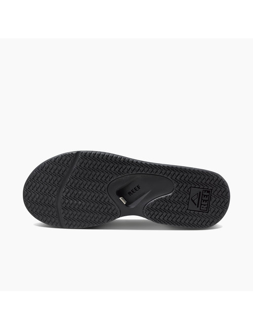 REEF Men's Fanning Sandals - All Black